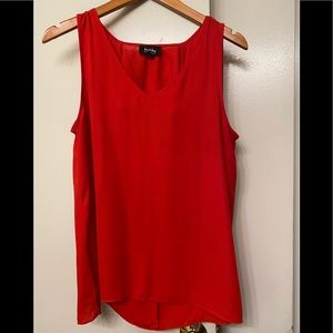 by & by women's red top size XL 🌹